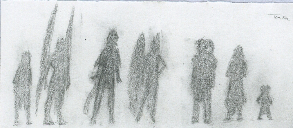 Concept: Character Silhouettes