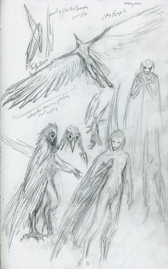 Skyborne Concept: Wings