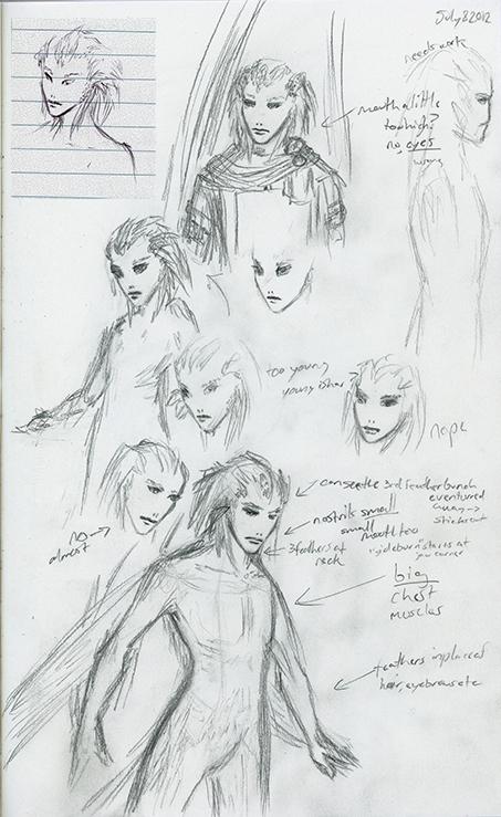 Ishar Concept: Faces