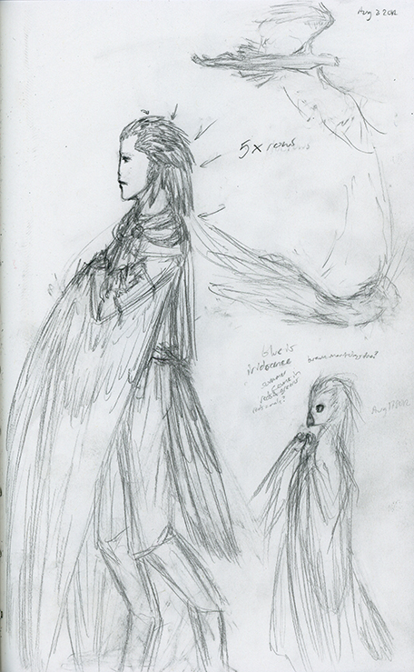 Ishar Concept: Feathers