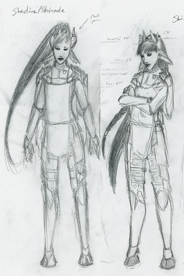 Concept: Shadine/Shinade