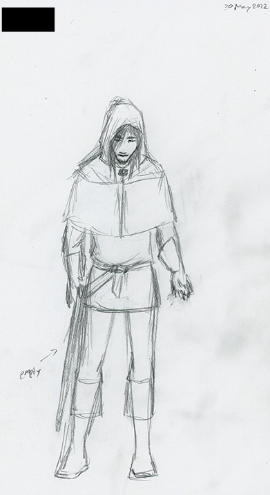 Concept: Panicked Acolyte