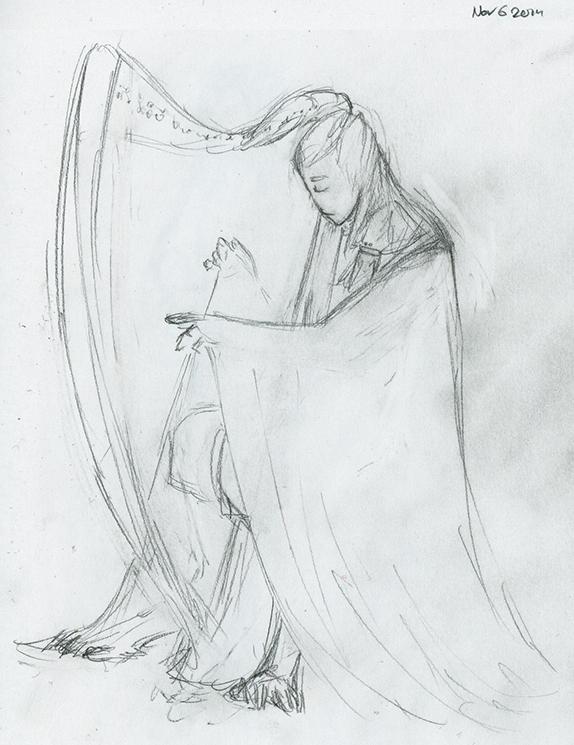 Concept: Harpist Ishar