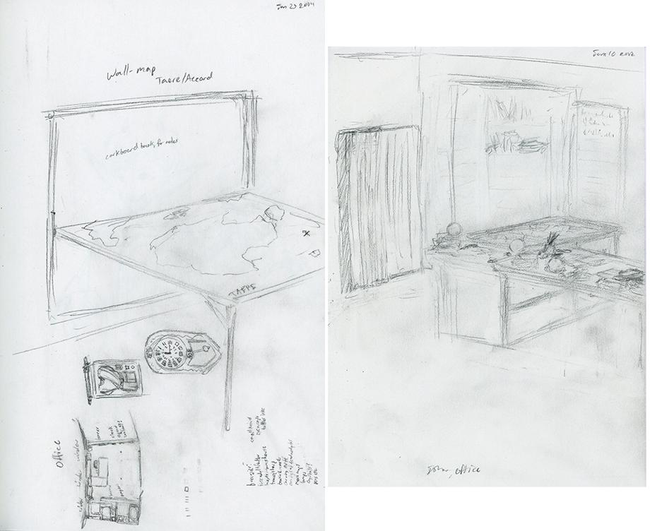 Concept: Ishar's Office