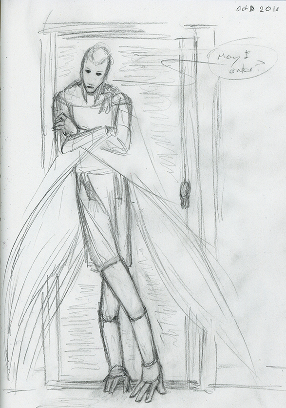 Concept: Panel Sketch